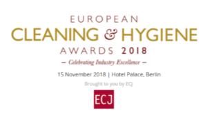 Equipage Hygiène Solutions newsletter juillet 2018 European cleaning and hygiene awards