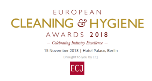 Equipage Hygiène Solutions participe au European Cleaning and Hygiene Awards 2018